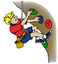 rock climbing classes at elite gymnastics rh elitegymnasticsinfo com rock climbing clipart free clipart rock climbing